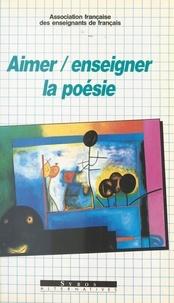 Afef - Aimer, enseigner la poésie.