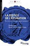 AFHJ - La justice de l'épuration - A la fin de la Seconde Guerre mondiale.