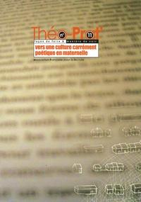 AFL - Théo-Prat' N° 11 : Vers une culture carrément poétique en maternelle.