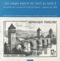 Deedr.fr Les usages experts de l'écrit au cycle 2 - Les actes de l'université d'été de Cahors, session de 1998 Image