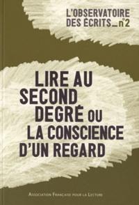 AFL - Lire au second degré ou la conscience d'un regard.