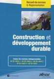 AFNOR - Construction et développement durable.