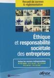 AFNOR - Ethique et responsabilité sociétale des entreprises.