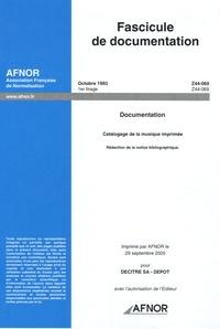Fascicule de documentation Octobre 1993 Documentation - Catalogage de la musique imprimée : Rédaction de la notice bibliographique.pdf