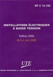 UTE - Installations électriques à basse tension - Edition 2002 mise à jour juin 2005. 1 Cédérom