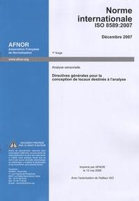Corridashivernales.be ISO 8589/2007 - Directives générales pour la conception de locaux destinés à l'analyse Image