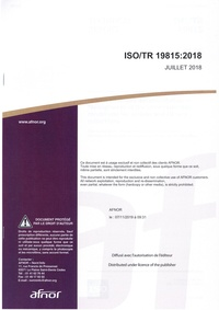 ISO/TR 19815:2018 Information and documentation - Management of the environmental conditions for archive and library collections.pdf