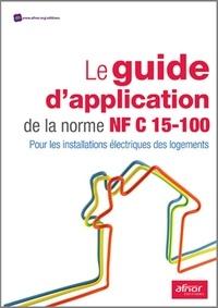 Deedr.fr Le guide d'application de la norme NF C15-100 - Pour les installations électriques des logements Image