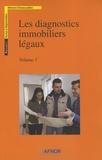 AFNOR - Les diagnostics immobiliers légaux - Pack en 2 volumes.
