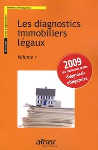 AFNOR - Les diagnostics immobiliers légaux - 2 volumes.