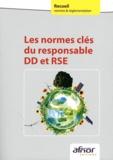 AFNOR - Les normes clés du responsable DD et RSE.