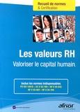 AFNOR - Les valeurs RH - Valoriser le capital humain.