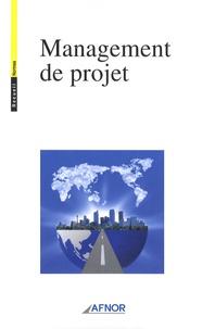 AFNOR - Management de projet.
