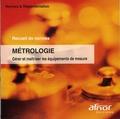 AFNOR - Métrologie - CD-ROM.