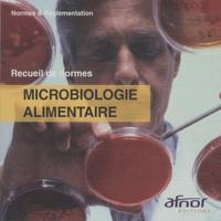 AFNOR - Microbiologie alimentaire - CD-ROM.
