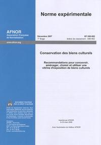 Ucareoutplacement.be Norme expérimentale XP X80-002 Conservation des biens culturels - Recommandations pour concevoir, aménager, choisir et utiliser une vitrine d'exposition de biens culturels Image
