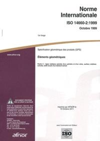 Norme internationale ISO 14660-2:1999 Spécification géométrique des produits (GPS) - Eléments géométriques Partie 2 : ligne médiane extraite dun cylindre et dun cône, surface médiane extraite, taille locale dun élément extrait.pdf