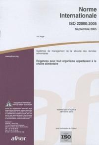 Norme internationale ISO 22000:2005 Systèmes de management de la sécurité des denrées alimentaires - Exigences pour tout organisme appartenant à la chaîne alimentaire.pdf