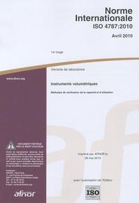 Goodtastepolice.fr Norme internationale ISO 4787:2010 Verrerie de laboratoire - Instruments volumétriques - Méthodes de vérification de la capacité et d'utilisation Image