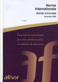 Birrascarampola.it Norme internationale ISO/CEI 31010 Gestion des risques - Techniques d'évaluation des risques Image