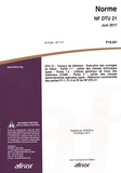 AFNOR - Norme NF DTU 21 Travaux de bâtiment - Exécution des ouvrages en béton.