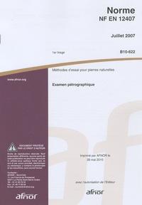 Norme NF EN 12407 Méthodes dessai pour pierres naturelles - Examen pétrographique.pdf