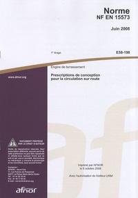 Openwetlab.it Norme NF EN 15573 Engins de terrassement - Prescriptions de conception pour la circulation sur route Image