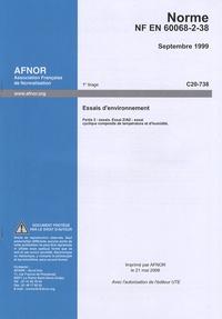 Accentsonline.fr Norme NF EN 60068-2-38 Essais d'environnement - Partie 2 : essais - Essai Z/AD : essai cyclique composite de température et d'humidité Image