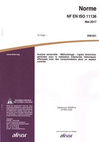 Rhonealpesinfo.fr Norme NF EN ISO 11136 Analyse sensorielle - Méthodologie - Lignes directrices générales pour la réalisation d'épreuves hédoniques effectuées avec des consommateurs dans un espace contrôlé Image