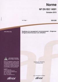 Era-circus.be Norme NF EN ISO 14001 Systèmes de management environnemental - Exigences et lignes directrices pour son utilisation Image