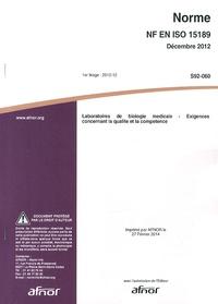 Norme NF EN ISO 15189 Laboratoires de biologie médicale - Exigences concernant la qualité et la compétence.pdf