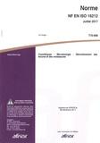 AFNOR - Norme NF EN ISO 16212 Cosmétiques - Microbiologie - Dénombrement des levures et des moisissures.