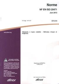 Galabria.be Norme NF EN ISO 20471 Vêtements à haute visibilité - Méthodes d'essai et exigences Image