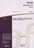 AFNOR - Norme NF en ISO 717-2 Acoustique - Evaluation de l'isolement acoustique des immeubles et des éléments de construction Partie 2 : protection contre le bruit de choc.