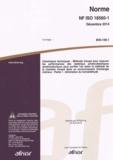 AFNOR - Norme NF ISO 18560-1 Céramiques techniques - Méthode d'essai pour mesurer les performances des matériaux photocatalytiques semiconducteurs pour purifier l'air selon la méthode de la chambre d'essai dans un environnement d'éclairage intérieur - Partie 1 : élimination du formaldéhyde.