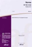 AFNOR - Norme NF ISO 21500 Lignes directrices sur le management de projet.