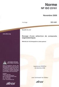 Norme NF ISO 23161 Dosage dune sélection de composés organostanniques - Méthode par chromatographie en phase gazeuse.pdf
