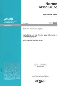 Optique et instruments doptique - Indications sur les dessins pour éléments et systèmes optiques.pdf