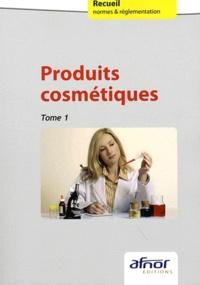 AFNOR - Produits cosmétiques - Tomes 1 et 2.