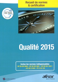 AFNOR - Qualité 2015.