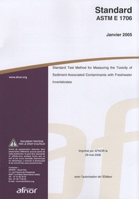 Standard ASTM E 1706 - Standard test method for measuring the toxicity of sediment-associated contaminants with freshwater invertebrates.pdf