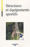 AFNOR - Structures et équipements sportifs. 1 Cédérom