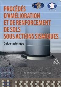 Procédés d'amélioration et de renforcement de sols sous actions sismiques- Guide technique -  AFPS | Showmesound.org
