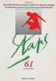 AFRAPS - Staps N° 61, Printemps 200 : .