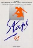 AFRAPS - Staps N° 65, Eté 2004 : .