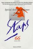 Thierry Terret - Staps N° 66, Automne 2004 : Spécial Activités physiques et genre.