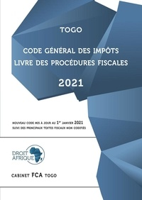 Afrique Droit - Togo - Code général des impôts 2021.