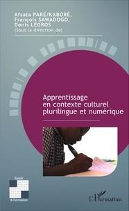 Afsata Paré-Kaboré et François Sawadogo - Processus enseignement/apprentissage et contextes culturels et linguistiques.