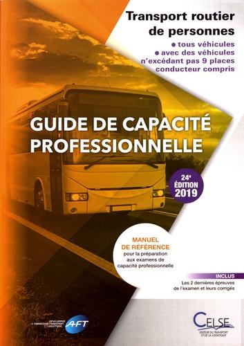 AFT - Guide de capacité professionnelle - Transport routier de personnes.