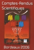 Afvac - Comptes-Rendus Scientifiques Bordeaux.